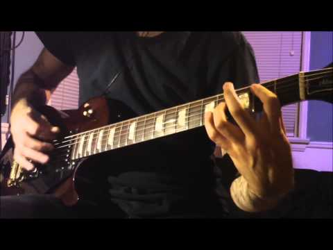 Ozzy Osbourne - Bark at the Moon (guitar cover)