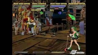 Guilty Gear Isuka PlayStation 2 Gameplay - Bridget owns