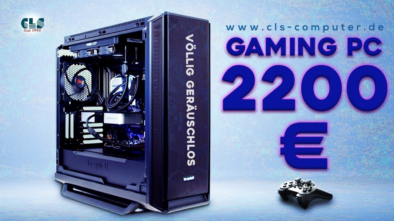 Bester 2000 - 2500 Euro Gaming PC - be quiet PC - SILENT GAMING PC Build 2021