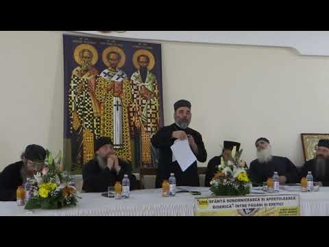 Cuvântul Pr. Ciprian Ioan Staicu la Sinaxa Ortodoxă din Satu Mare 19 mai 2018