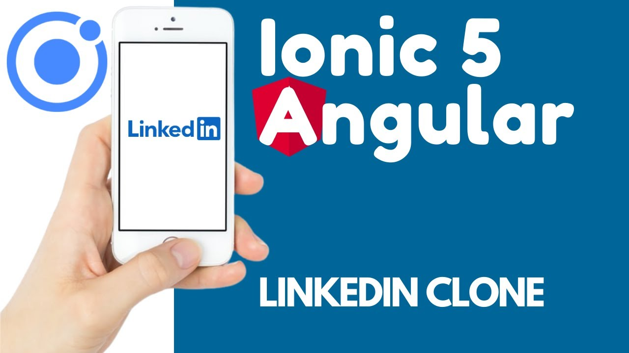 Ionic 5 Angular 11 Layout and Modal for Beginners | LinkedIn Clone [3]
