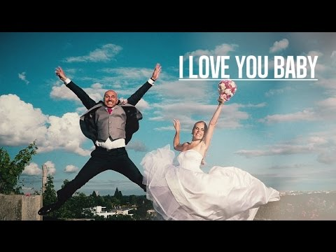 I LOVE YOU BABY David & Hanka Svatební klip (Videojinak)