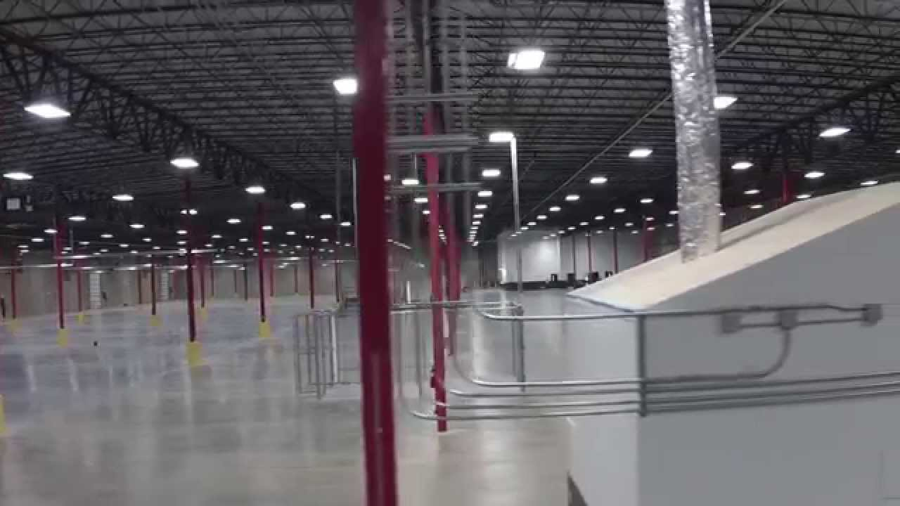 Cooper Construction - FedEx Wichita Falls, TX - Interior Fly-Through