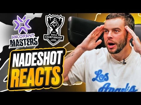 Nadeshot REACTS to Valorant's Berlin & LCS Worlds HUGE Qualifying Moments (100T's Biggest Week EVER)