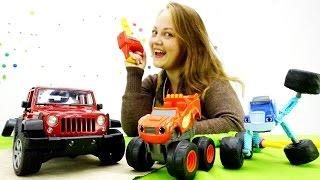 Видео для детей. Вспыш и чудо машинки: ремонт машины