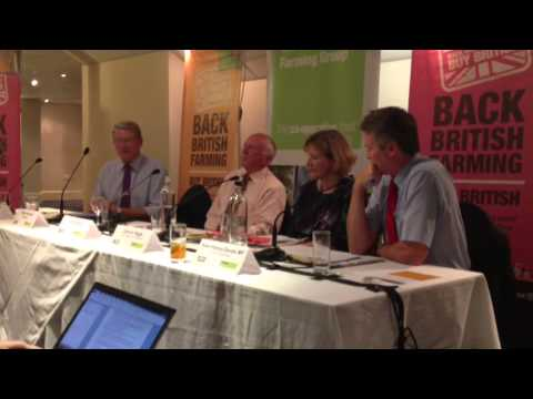 Labour Party Conference: Huw Irranca-Davies and Peter Kendall clash