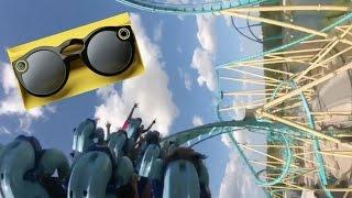 roller coaster w snapchat specs