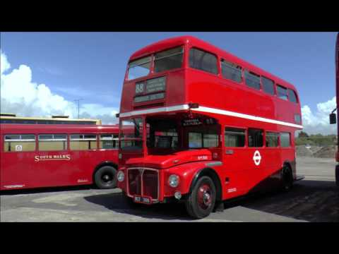 Swansea Bus Museum Running Day with Bristol VR 978 & Routemaster RM 308. Sunday 14th May 2017.