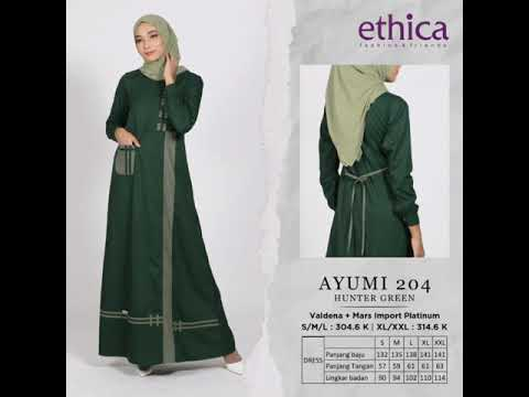 Katalog Ethica Gamis Ayumi 030920 Toko Farah 081225804410 Youtube