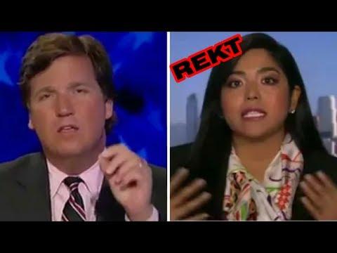 Tucker Carlson HUMILIATES Illegal Immigrant Wall Street Executive LIVE Fox News REKT