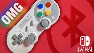The BEST Wireless Controller for Switch! 8BITDO SF30 Pro