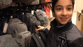 Vlog - Shopping chaussures et Cartable pour Aram - StudioSurpriseToys