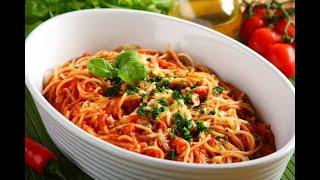 Przepis - Spaghetti amatriciana (przepisy kulinarne przepisy.pl)