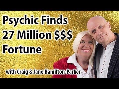 Psychic Finds $27 Million Dollar Fortune | Challenging interview with Craig & Jane Hamilton-Parker.