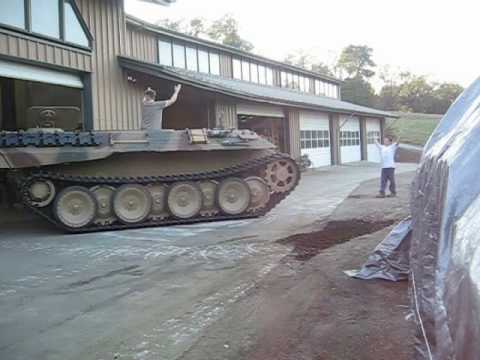 Panther Tank first drive.