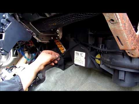How To Change A Heater Core On A 96 Plymouth Breeze Youtube