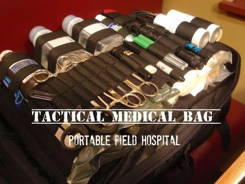 Tactical Medical Bag: Medium-sized Group
