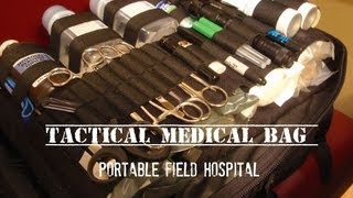 Tactical Medical Bag: Medium-sized Group