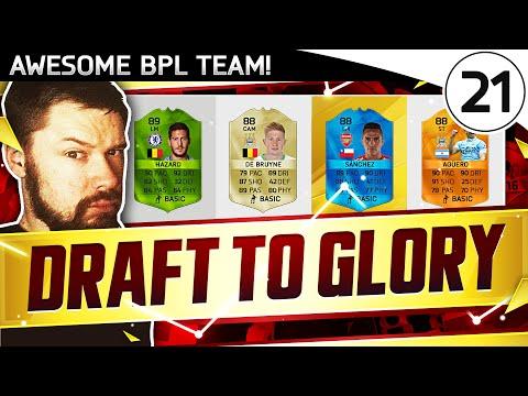 BRILLIANT BPL TEAM! - FUT DRAFT TO GLORY #21 - FIFA 16 Ultimate Team