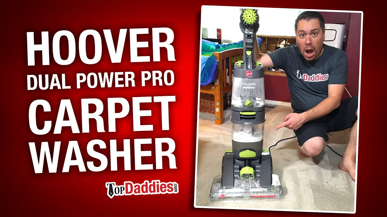 Hoover Dual Power Pro Carpet Cleaner Review Fh51200