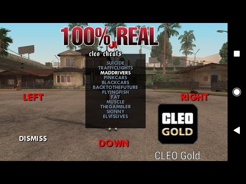 How To Add Cleo Mod In GTA SA 2.00 With CLEO GOLD App (NO ROOT) | 100% REAL | GAMERHBK !  |