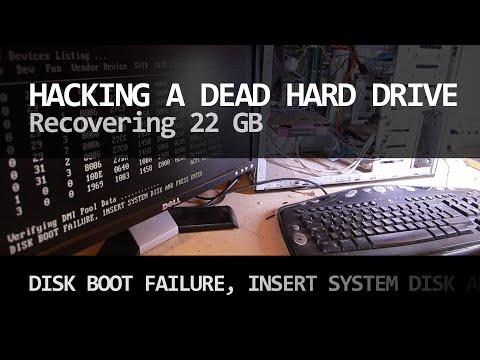 DISK BOOT FAILURE - Hacking a dead hard drive
