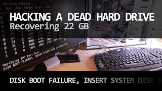 DISK BOOT FAILURE - Hacking a dead hard drive