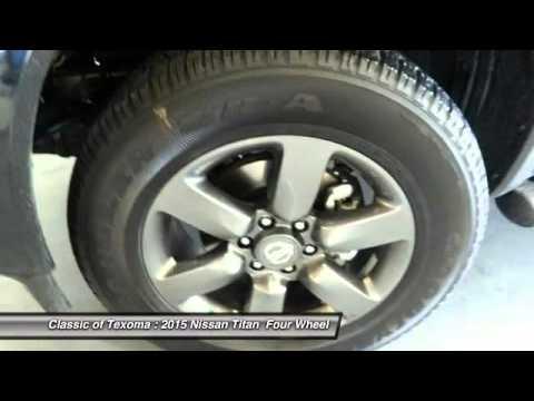2015 Nissan Titan Denison Sherman Durant FN504028