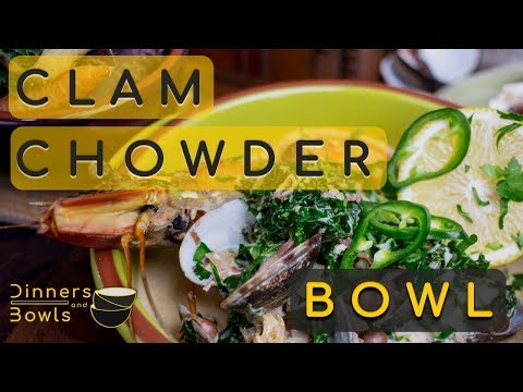 How to make a bean and green, clam chowder | Quick Recipe