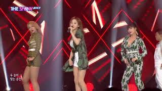 K-pop 20180814 더쇼(the show) 01 식스밤(sixbomb) - Hiccup Hiccup