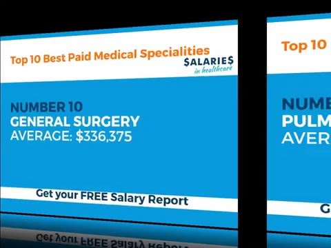 Top 10 Best Paid Medical Specialities