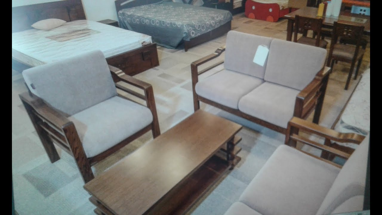 sofa set low cost sleeper at costco hatil new soild wood separate cushion price 57 700