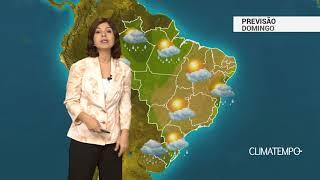 Previsão Brasil – Frente fria muda o tempo no Sul