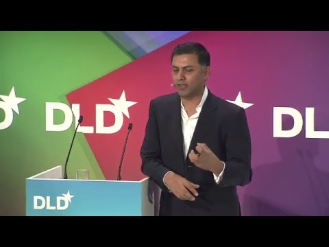 Future of Business (Nikesh Arora, CEO at SoftBank) | DLD12