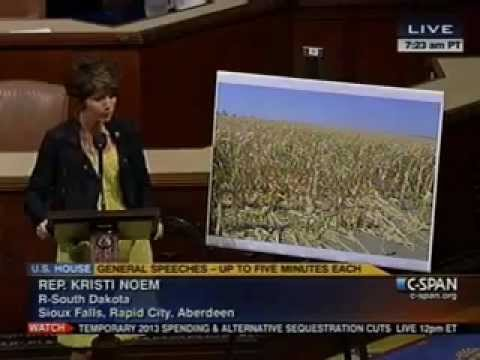 Rep. Noem Speaks on House Floor to Call for A Farm Bill Now