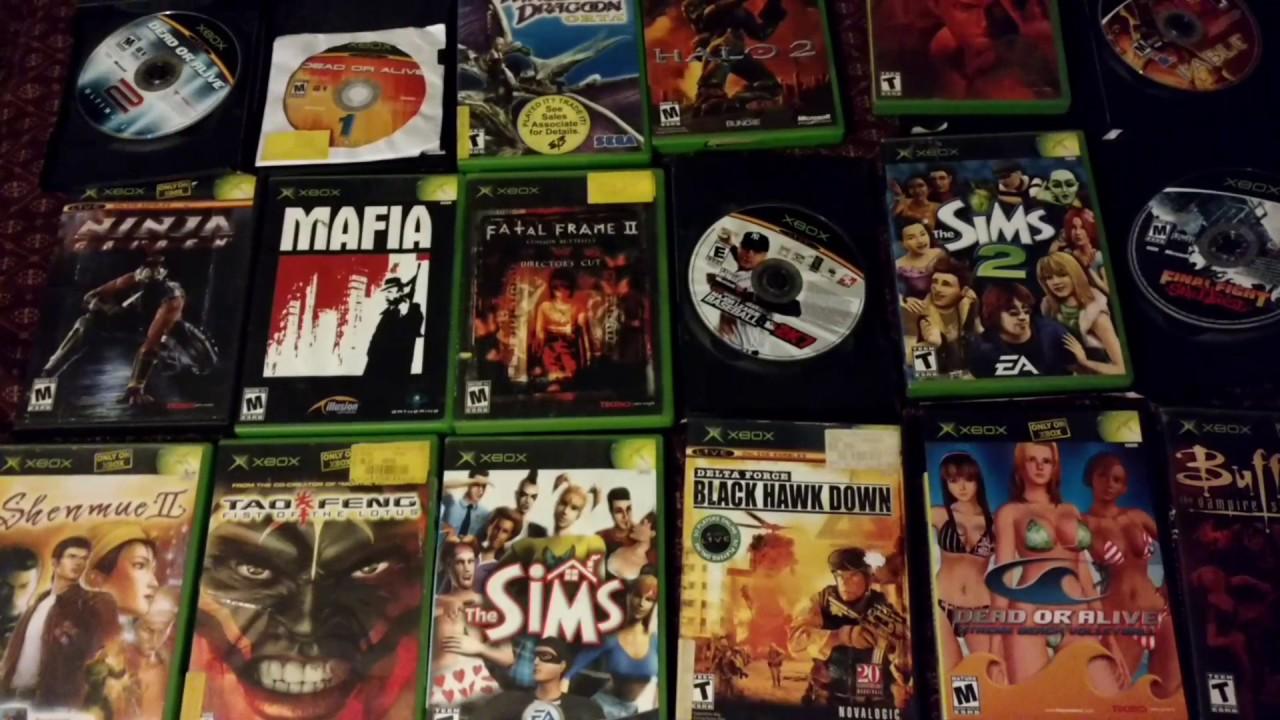 Fun Games For Xbox Original : My original xbox games collection youtube