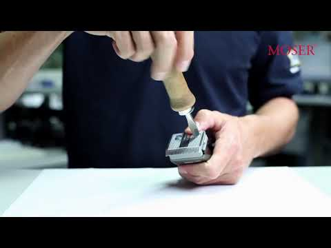 Как ухаживать за ножами Moser Primat 1230