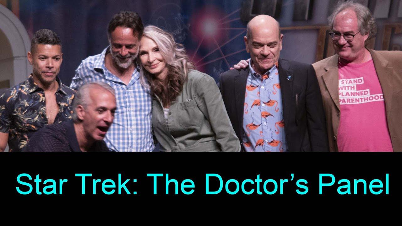 Download The Doctors Panel at Star Trek Las Vegas - 8-3-19 - Gates Mcfadden, Robert Picardo, Alexander Siddig