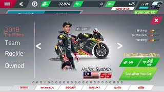 Hafizh Syahrin in MotoGP Racing '18 Mobile Android | IOS