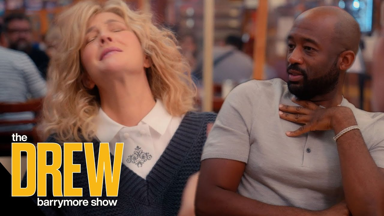 Drew and Crew Pay Homage to Iconic NYC Rom-Com Scenes Like When Harry Met Sally