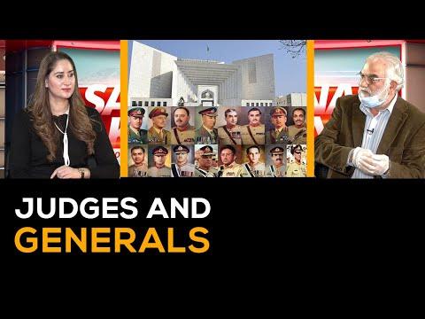SAMINA KHAN   Judges and Generals