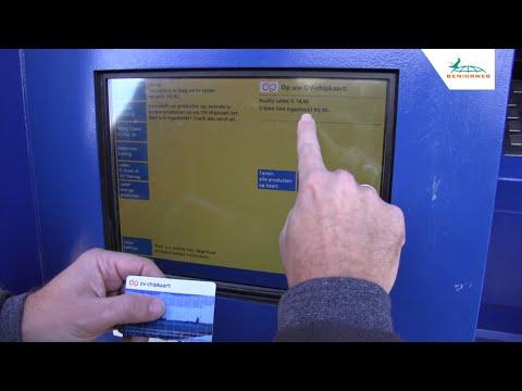 OV-chipkaart: saldo opwaarderen