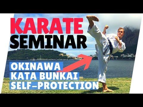 FIGHTING KARATE SEMINAR | Okinawa Kata Bunkai — Jesse Enkamp