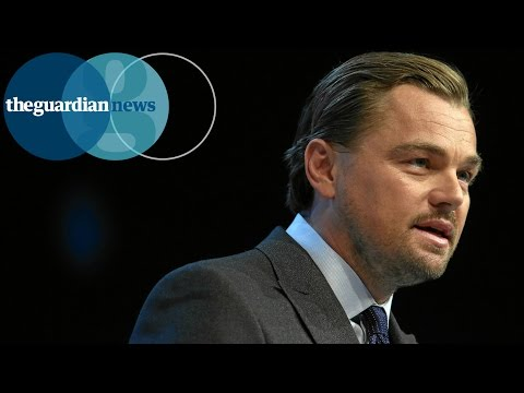 Leonardo DiCaprio accuses oil companies of greed