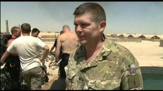 Desert divers train in Afghanistan 08.07.11