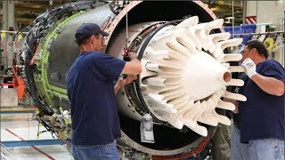 Largest jet engine in the world. It's hard to believe how it's done.