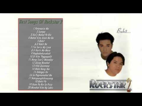 ROCKSTAR 2 Greatest Hits | ROCKSTAR 2 Classic Songs - Filipino Music