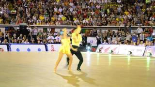 Amazing Latin dance couple
