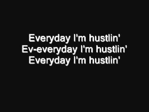 Hustlin' - Rick Ross - Lyrics