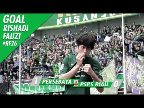 Cuplikan Gol Fauzimovic [Persebaya 1-0 PSPS Riau]